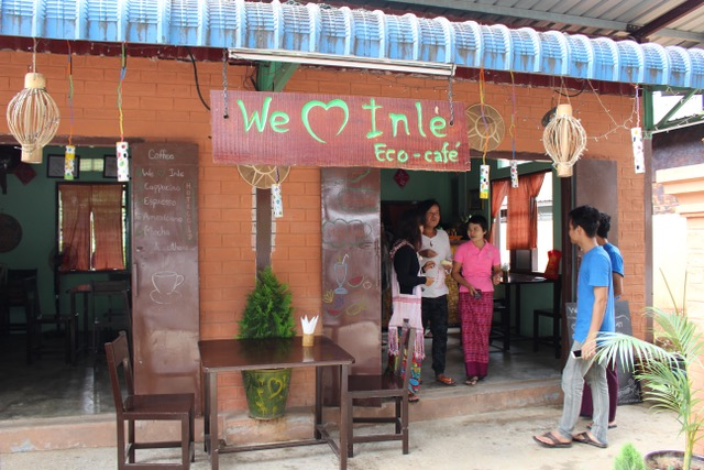 'We Love Inle' Eco Cafe