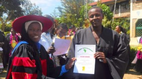 Empowering rural women: skills training graduation